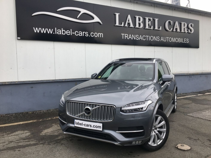 VOLVO XC90 D5 AWD 225CH INSCRIPTION LUXE GEARTRONIC 7 PL
