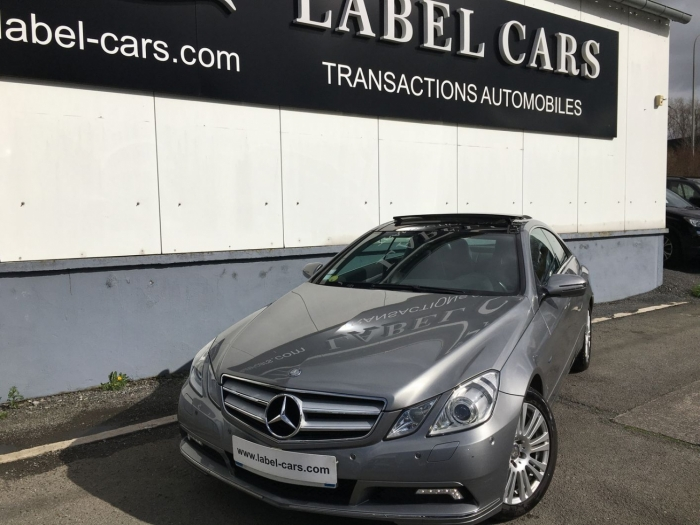 MERCEDES E COUPE 350 CDI EXECUTIVE BA
